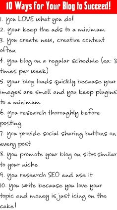 Blogging tips. How to start and how to succeed.