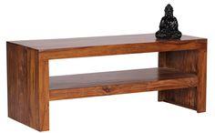Wohnling WL1.202 Durban Sheesham Coffee Table 110 x 45 cm Solid Wood: Amazon.co.uk: Kitchen & Home