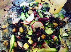"""ひじきと豆のマリネ風サラダ """"Hijiki and Beans Marinated Salad""""  1900pm - 0230am #nonsmokingbar#nocover"""