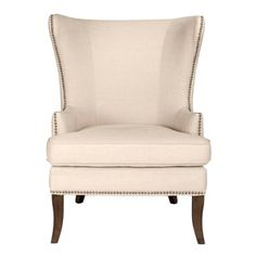 clayton accent chair quick ship blue