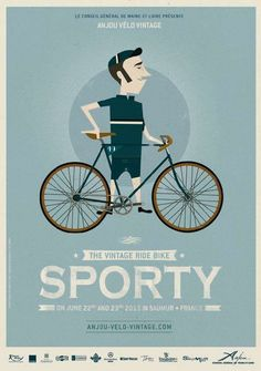 We're so looking forward to the Anjou Vintage Velo extravaganza in June - already planning our outfits! Will Mr Songbird emulate this 'sporty' look...
