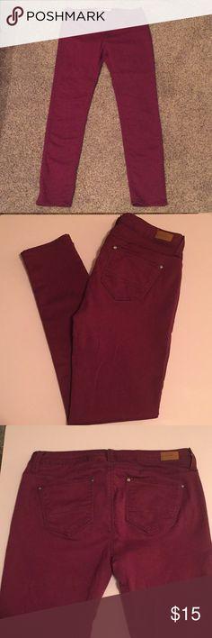 Iris Modern Vintage Maroon Jeans Size 11 Iris Modern Vintage Maroon Jeans Size 11 Jeans