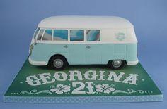 vw bus cakes   VW-Bus Cake von Danni's Cake