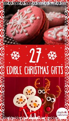 Stuck for good Christmas present ideas? Try one of our 27 gorgeous homemade food gift ideas. We've got classics like mince pies and Christmas biscuits, cupcakes, macarons, easy truffles, and fun ideas for the kids' stockings.