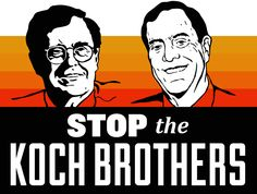 The bankrupt Tribune Company is selling its daily newspapers, including the Chicago Tribune and the Los Angeles Times. Charles and David Koch — billionaire brothers notorious for their extreme politics — may be the buyers.  Act Now: Stop the Koch Brothers! We don't need more corporate control of our media and our politics. We need journalism that uncovers corruption — not hack writing that covers it up.  PLZ Sign & Share!