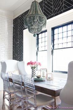 Our breakfast room reveal with Osborne Wood Products!