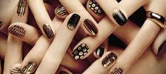 50 Beautiful Nail Art Designs & Ideas Of 2.. | Med Tech | VK Funky Nail Art, Funky Nails, French Nail Designs, Nail Art Designs, Cute Christmas Nails, Long Acrylic Nails, Glitter Nail Art, Nail Spa, Beautiful Nail Art