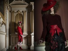 In-Rouge-To see the whole red fashion editorial see www.maven46.com and all looks are shoppable