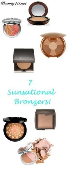 Get glowing with a bronzer! Click thru to see my faves!