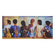 Pink Floyd Temalı Sembol Kadınlar 3D Dekoratif Tablo