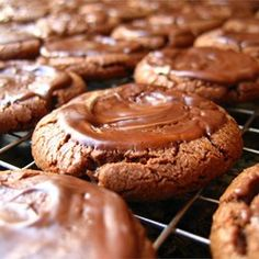"""Chocolate Mint Candies Cookies   """"The cookies are moist and taste just like a thin mint Girl Scout cookie. Yum!"""""""