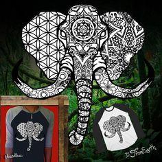 Elephant on Threadless