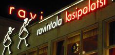 City lights. Lasipalatsi, Helsinki.