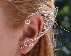 Elf Ear Cuff Tutorial 1 by Belethil on Etsy                                                                                                                                                                                 More