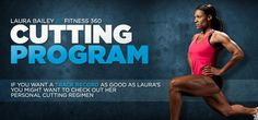 Laura Bailey's Cutting Program I like this pre-competition cutting program….very good article for men and women….a diet programme and a training programme Weight Lifting Diet, Weight Training Workouts, Training Plan, Training Programs, Strength Training, Workout Programs, Weight Loss, Workout Diet, Boxing Workout