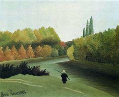 Henri Rousseau - Le pêcheur (1909)