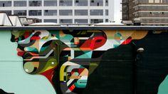 """""""Vans The Omega """" in Eindhoven, Nederlands Art Festival, Abstract Artwork, Art, Art File, Street Art"""