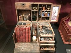 Pin by Danie Pizarnik on witch craft in 2019 Larp, Objet Harry Potter, Apothecary Cabinet, Cabinet Of Curiosities, Magic Box, Witchcraft, Wiccan, Magick, Witch Aesthetic