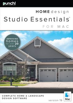 Punch! Home & Landscape Design Premium v19 Home Design Software for ...