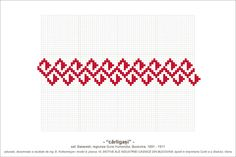 Latest Embroidery Designs, Flower Embroidery Designs, Folk Embroidery, Embroidery Patterns, Simple Cross Stitch, Cross Stitch Borders, Fair Isle Pattern, Embroidery For Beginners, Needle And Thread