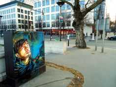 C215 ...homage to the people who constitute the city, especially to those who live in its streets, like children and homeless people...