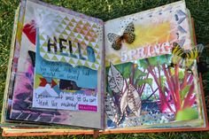 Art journalling: Spring | This Whole Soul