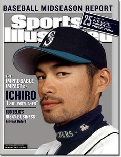 Ichiro, Sports Illustrated (July 2002) #Mariners