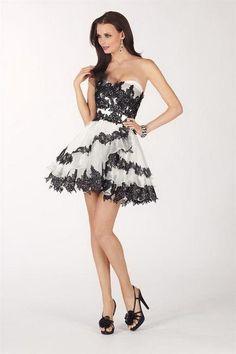 9b6b5dc1d73 Fotos de vestidos de 15 años blanco y negro - Paperblog
