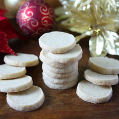 traditional german heidesand cookies shortbread recipe browned butter Christmas holidays baking dessert authentic