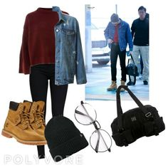 Camp Outfits, Chill Outfits, Youth Camp, Bts Clothing, Accesorios Casual, Friend Outfits, Kpop Fashion Outfits, Inspired Outfits, Airport Style