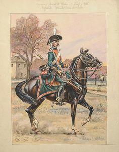 Les cavaliers de la Grande Armée :: 7ème régiment de Chasseurs