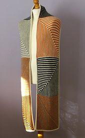 Ravelry: Dominowan pattern by Brian smith Knitted Shawls, Knitted Blankets, Crochet Scarves, Knitting Stitches, Knitting Yarn, Knitting Patterns, I Cord, Knit Or Crochet, Crochet Pattern