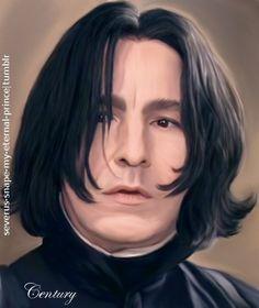 "severus-snape-my-eternal-prince: "" Prince! ♥ ♥ ♥ """