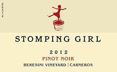 Red Wine.  2012 Stomping Girl Beresini Vineyard Carneros Pinot Noir Wine 750 mL *** Read more @ http://www.amazon.com/gp/product/B00OIMCT3C/?tag=wine3638-20&pst=170816012520