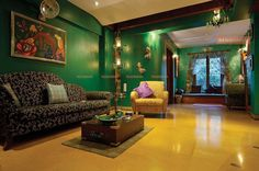 Design a beautiful living room using the right colors  See more beautiful homes at renomania.com