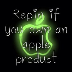 Repin if you own an apple product