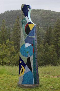 Michael Gustavson ceramic sculpture Street Blues at Sculpturesite Gallery Sculpture Art, Garden Sculpture, Aboriginal Painting, Sculptures For Sale, Contemporary Sculpture, Art Installation, Glaze, Abstract Art, Blues