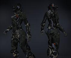 F4-RCU by hunt dougherty | Robotic/Cyborg | 2D | CGSociety