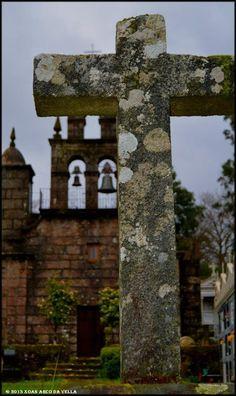 XOAN ARCO DA VELLA: IGLESIA DE LAXE - FORNELOS DE MONTES Outdoor Structures, Garden, Arch, Stairway, Places To Visit, Architecture, Traditional, Drive Way, Santiago