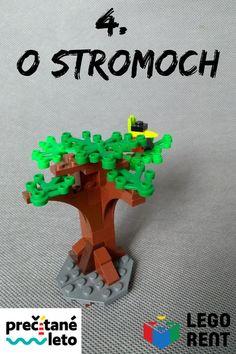V štvrtom týždni čítame Utečenca na vtáčom strome a staviame Lego stromy a vtáčikov. Pridajte sa k nám! Lego, Legos