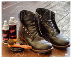 Red Wing Iron Rangers in Black.