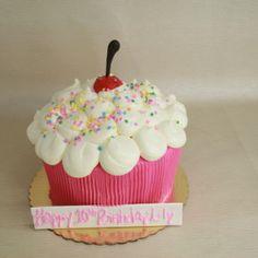 Cupcake Cake  Dessert Works Bakery  Westwood, MA