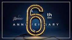 6th anniversary illustration for site on Behance