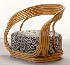 Product: Eva Manufacturer: Vittorio Bonacina Designer: Giovanni Travasa Date: 1965 Status: Indent - 16 weeks) Dimensions: x x cm Construction: Cane/Wicker/Rattan, Foam