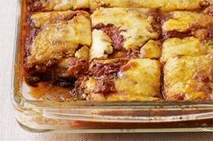Jennifer Hudsons No Noodle Vegetable Lasagna. Hint = Double the recipe and then freeze in single portion sizes for quick and easy dinners.