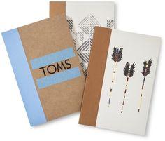 Toms For Target Journals 4 X6 Set Of 3 Office Suppliestomsset