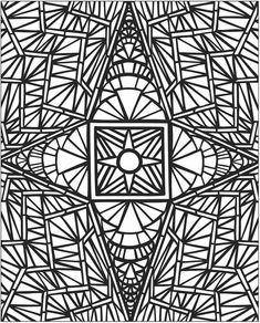 Mosaic Pictures To Color Az Coloring Pages Lds For Grown