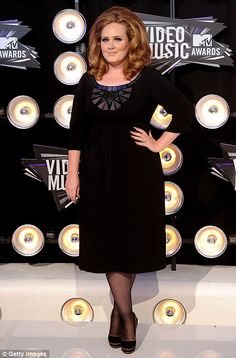 """Oh yes, I do love Adele. Click for her response to Karl Lagerfeld's """"too fat"""" comment."""