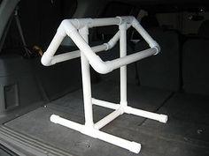 PVC Saddle Rack