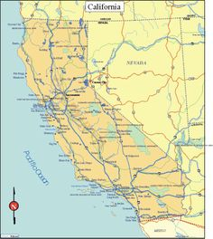 California State Map Printable Our California St Road - Free printable us road map